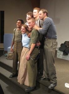 Cast of Vimy, November 2013